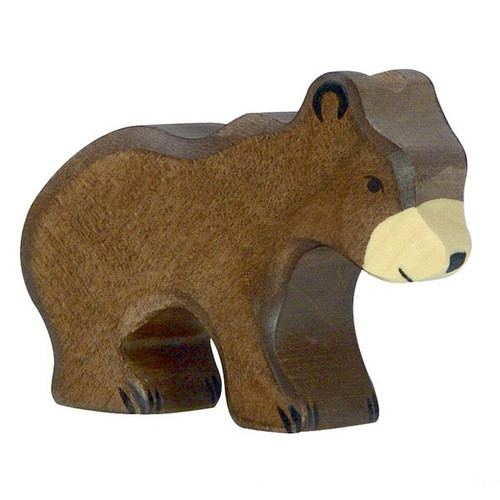 Brown Bear Small Holztiger