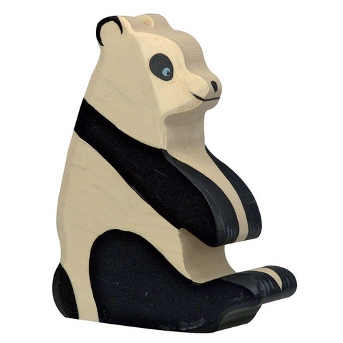 Panda Sitting Holztiger