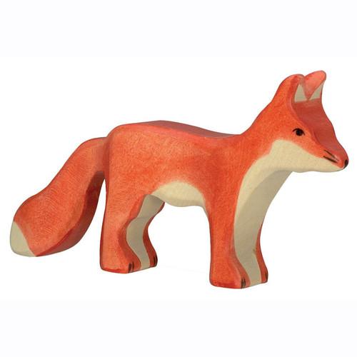 Fox Standing Holztiger
