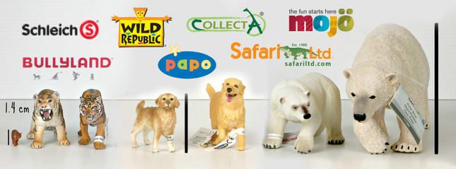 Size Comparisons of Animal Figurine Brands | MiniZoo Blog