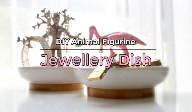 DIY Toy Figurine Jewellery Dish for Mum this Mother's Day