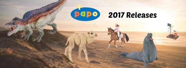 Papo 2017 Releases   MiniZoo Blog