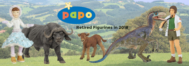 Retired Papo for 2018 | MiniZoo Blog