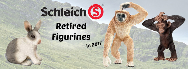 Retired Schleich for 2017