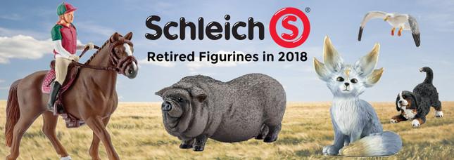 Retired Schleich for 2018   MiniZoo Blog
