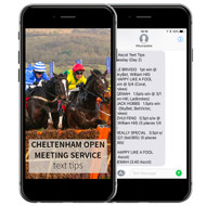 Cheltenham Open Meeting Saturday Service (16 November) - TEXT