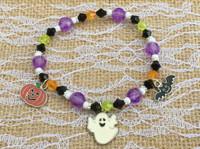 Ghost & Friends Halloween Bracelet