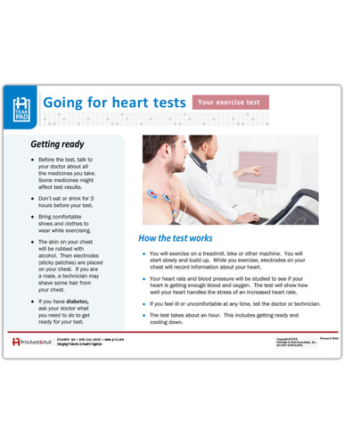 Exercise Stress Test tearpad