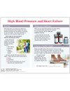 High Blood Pressure and Heart Failure tearpad - back side