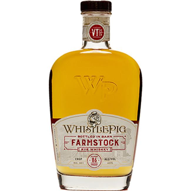 Whistle Pig Farmstock Rye Whiskey