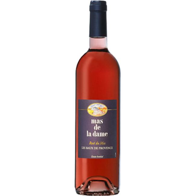 Mas de la Dame Les Baux de Provence Rose du Mas