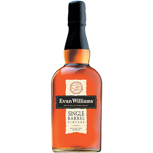 Evan Williams Single Barrel 7 Years Old Kentucky Straight Bourbon Whiskey