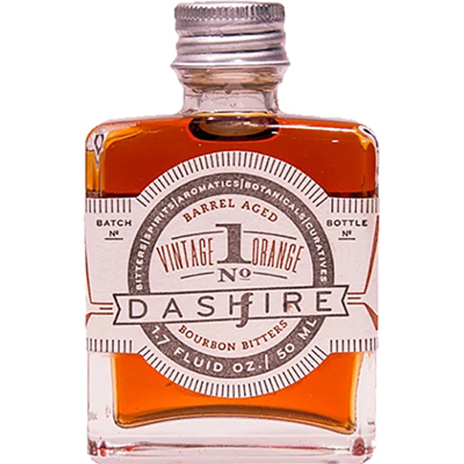 Dashfire Vintage Orange No. 1 Barrel Aged Bourbon Bitters