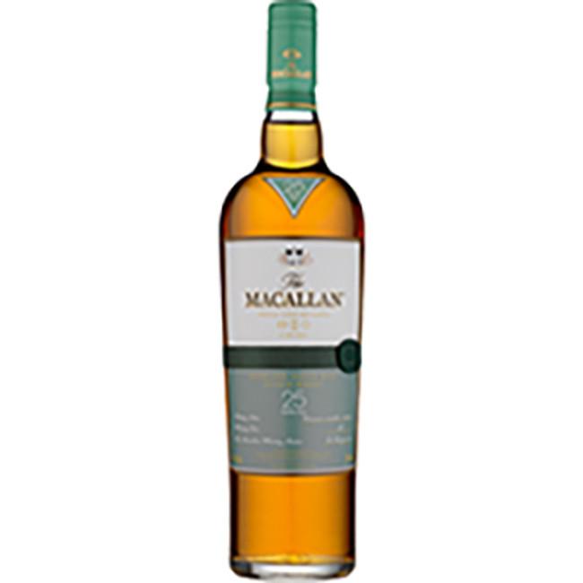 The Macallan 25 Years Old Fine Oak Highland Single Malt Whisky