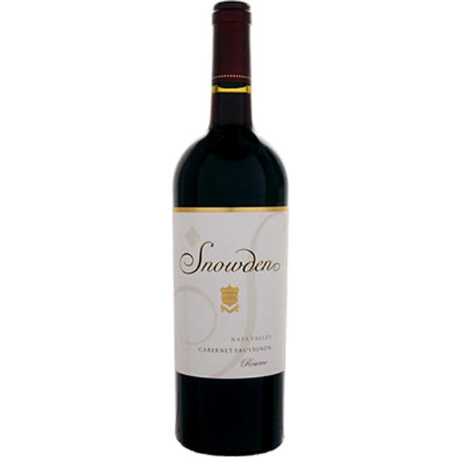 Snowden Vineyards Reserve Napa Valley Cabernet Sauvignon