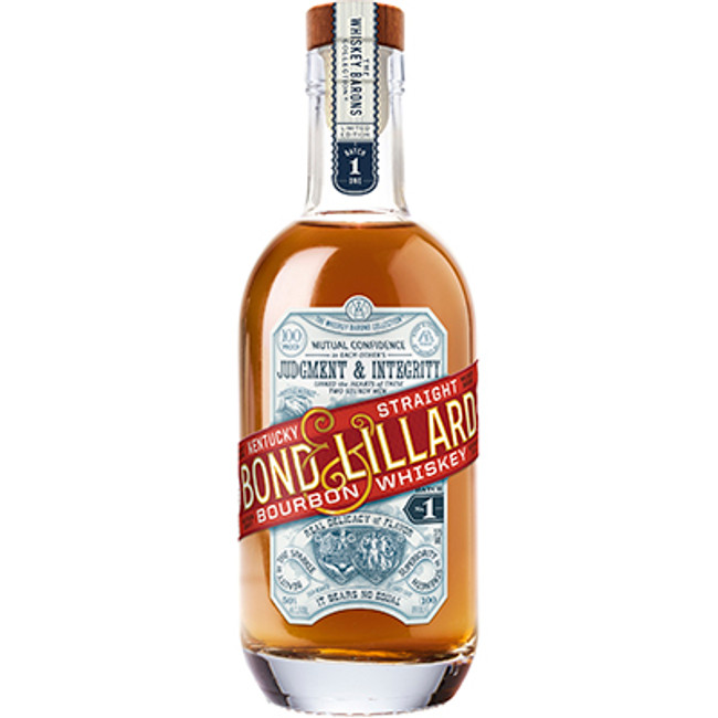 Bond & Lillard Kentucky Straight Bourbon Whiskey 100 Proof