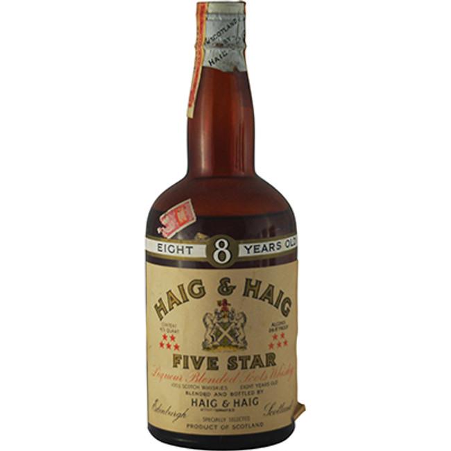"Haig & Haig ""Five Star"" 8 Years Old Blended Scotch Whisky, 1940s bottling"