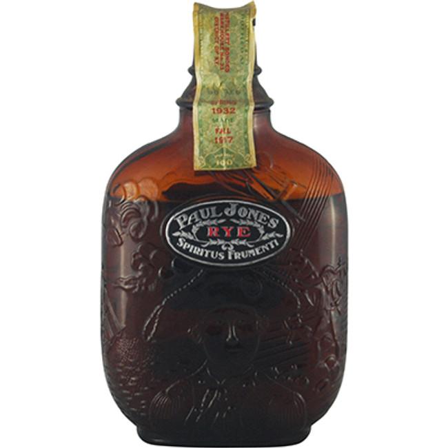 Rare Prohibition Whiskey - Industrial Distilling Co, Paul Jones Rye Distilled 1917 Bottled 1932, 100 Proof 1 Pint