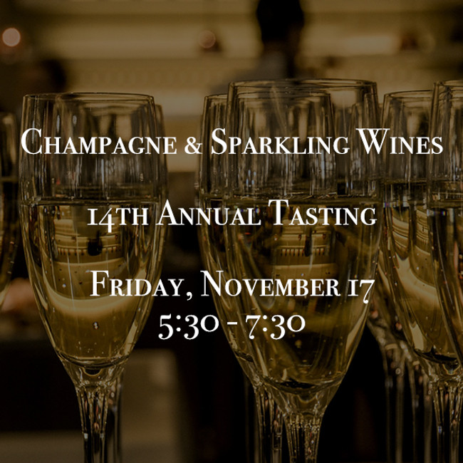 14th Annual  Champagne & Sparkling Wines Tasting