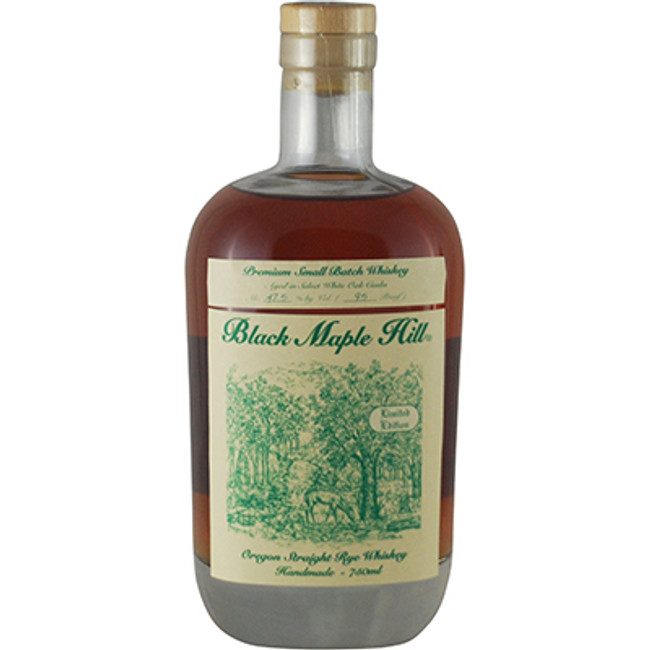 Black Maple Hill Whiskey Rye, Oregon Straight Rye Whiskey, Limited Edition 47.5%