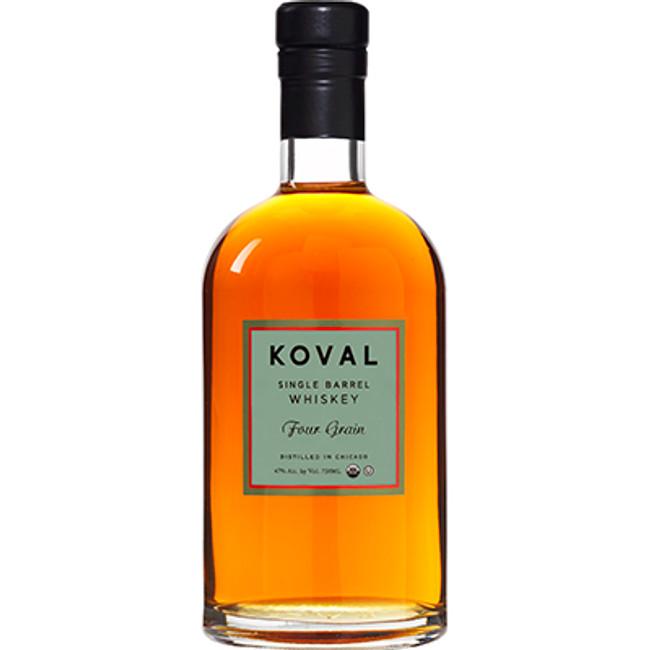 Koval Single Barrel Four Grain Whiskey