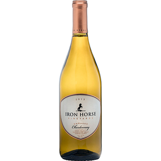 Iron Horse Vineyards UnOaked Chardonnay (2013)