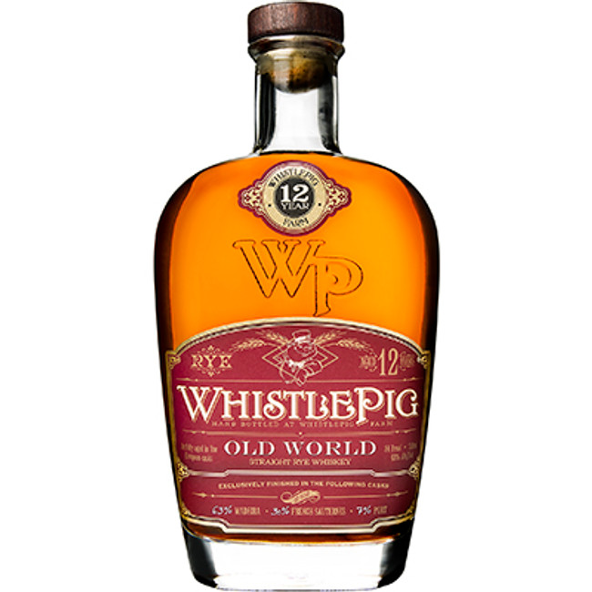 Whistle Pig	Old World Rye 12 Years Old