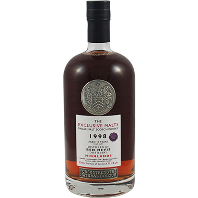 Ben Nevis 1998 15 Years Single Malt Scotch