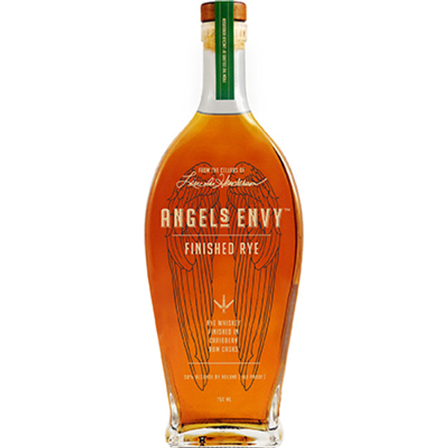 Angel's Envy Rye Whiskey Finished in Caribbean Rum Casks