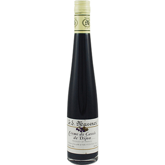 G.E. Massenez Creme de Cassis de Dijon 375ml