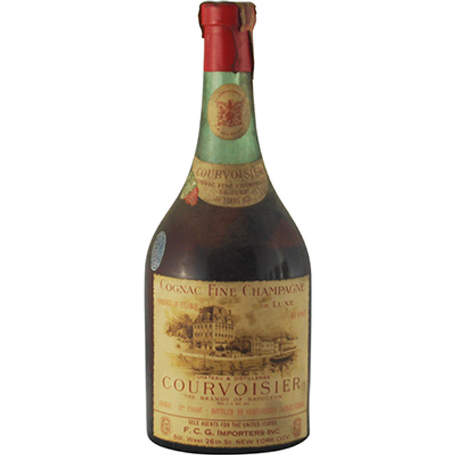 Courvoisier Fine Champagne Cognac 50 Years Old 1930s Bottling