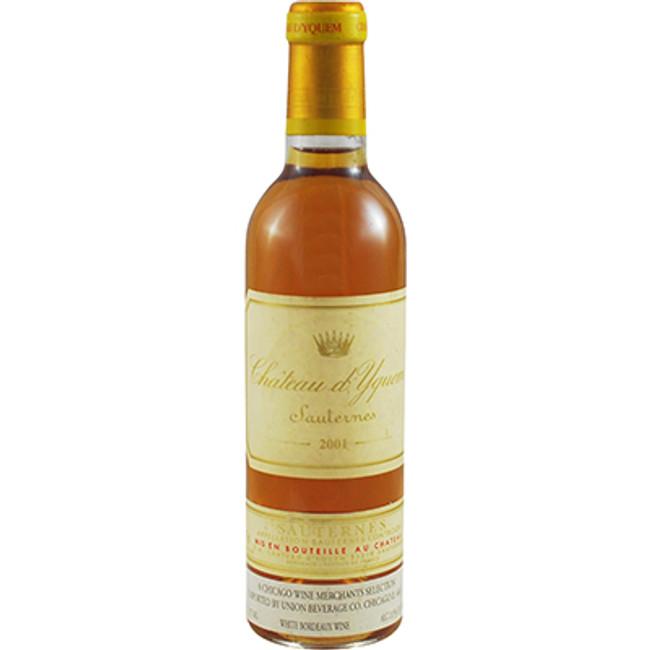 Chateau d'Yquem Lur-Saluces Sauternes 375ml (2001)