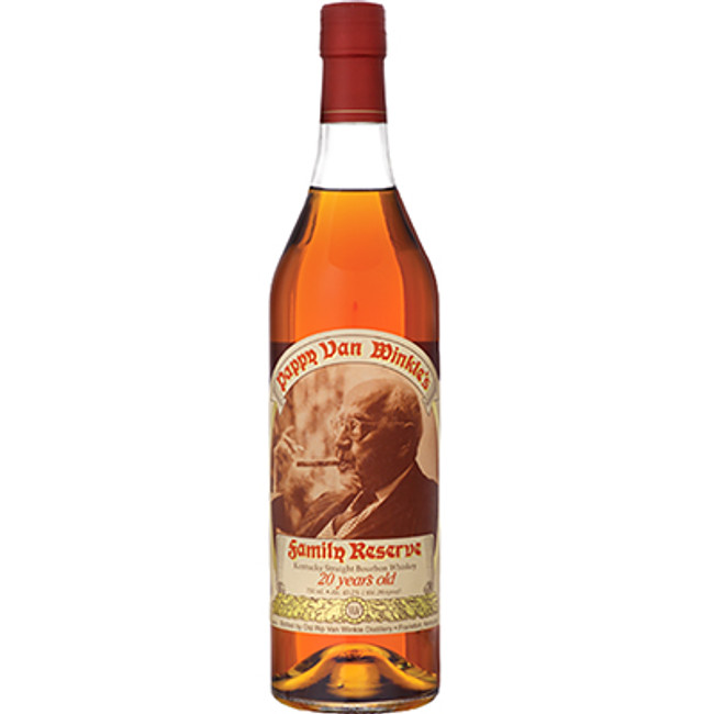 Pappy Van Winkle's Family Reserve 20 Year Old Kentucky Straight Bourbon Whiskey