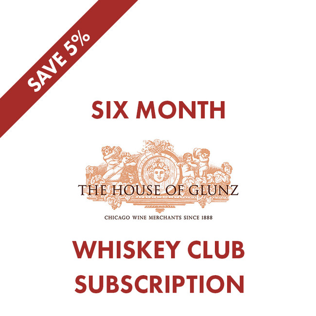 6 Month Whiskey Club Subscription - Save 5%