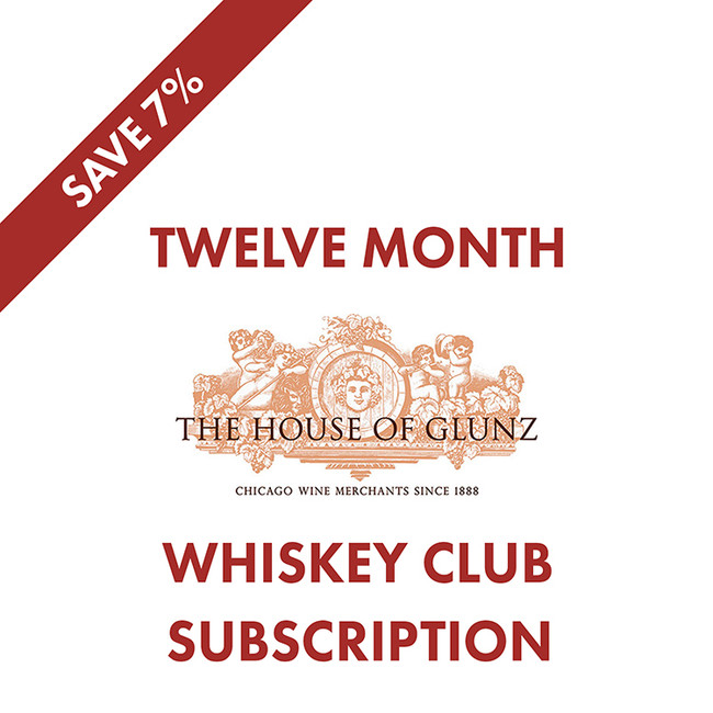 12 Month Whiskey Club Subscription - Save 7%