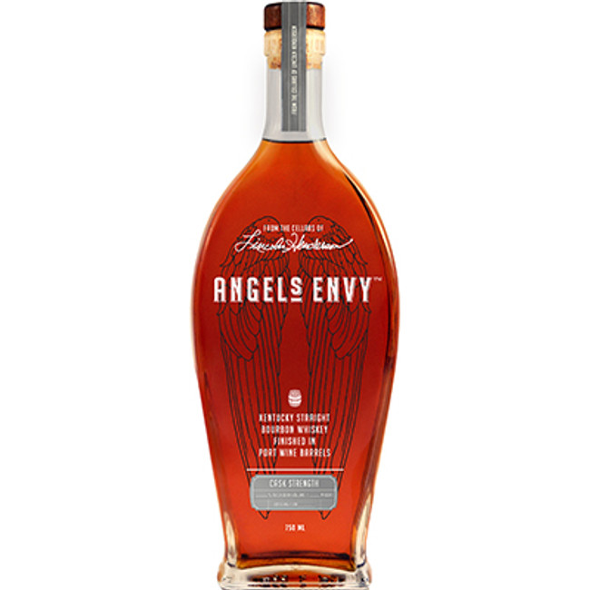 Angel's Envy Cask Strength Kentucky Straight Bourbon Whiskey Finished in Port Wine Barrels 2016 Release