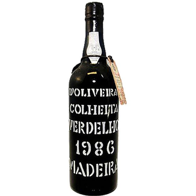 D'Oliveiras Verdelho Vintage Madeira (1986)