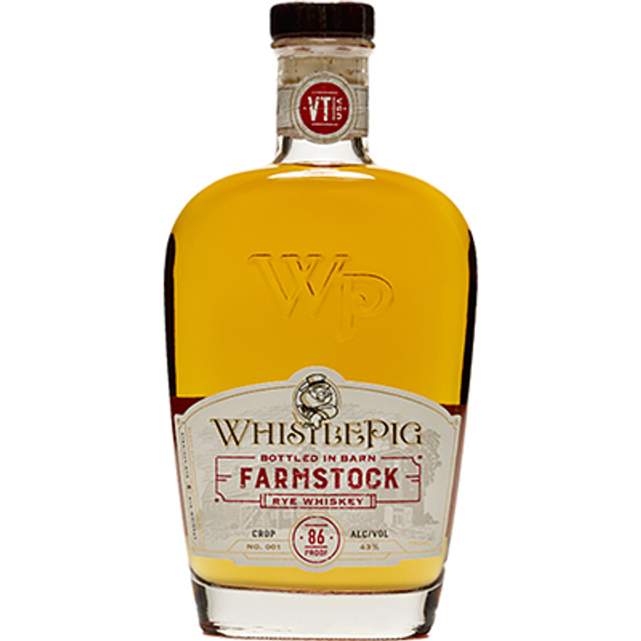 Whistle Pig Farmstock Rye Whiskey