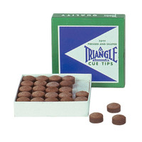 Triangle Cue Tips | Assorted Individual Sizes