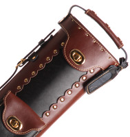 Instroke Original Leather Cowboy Series - Black/Brown/Rev - 2x3 - Top