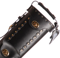 Instroke Original Leather Cowboy Series - Black - 3x5 - Top
