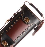 Instroke Original Leather Cowboy Series - Black/Brown - 3x5 - Top