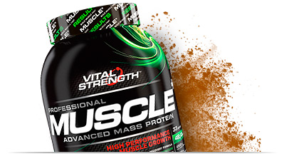 Vitalstrength Pro Muscle Protein Powder Nutrition