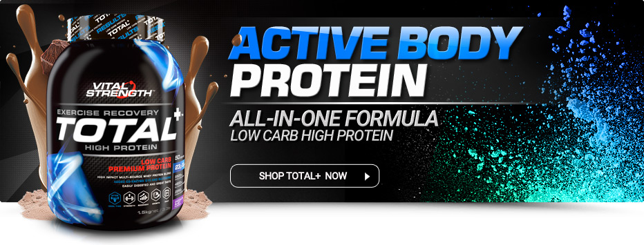 Total+ Low Carb High Protein Powder
