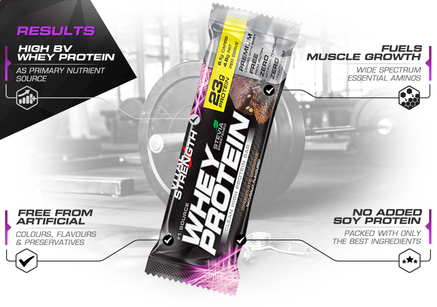 Whey Protein Bar Results
