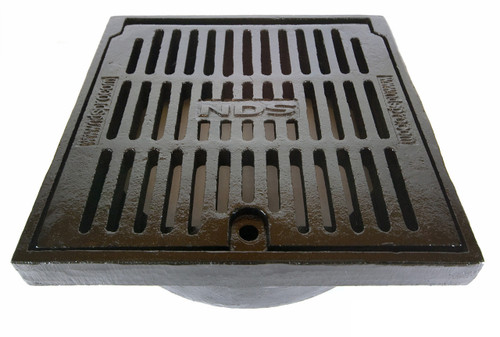 Nds 12 Quot Round Cast Iron Grate The Drainage Products Store