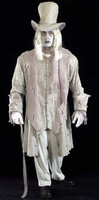 Adult Gothic Ghostly Gentleman Spirit Ghost Haunted Spook Halloween Costume
