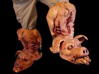 Pig Boots (Pair) Halloween Costume
