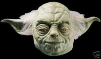 Star Wars Movie Yoda Deluxe Halloween Mask Costume Prop