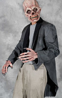 Rotted Tattered Tuxedo Zombie Coat Halloween Costume